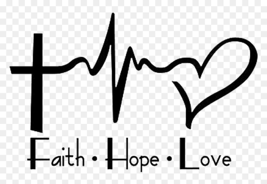 Download Love Hope Faith Png, Transparent Png - vhv
