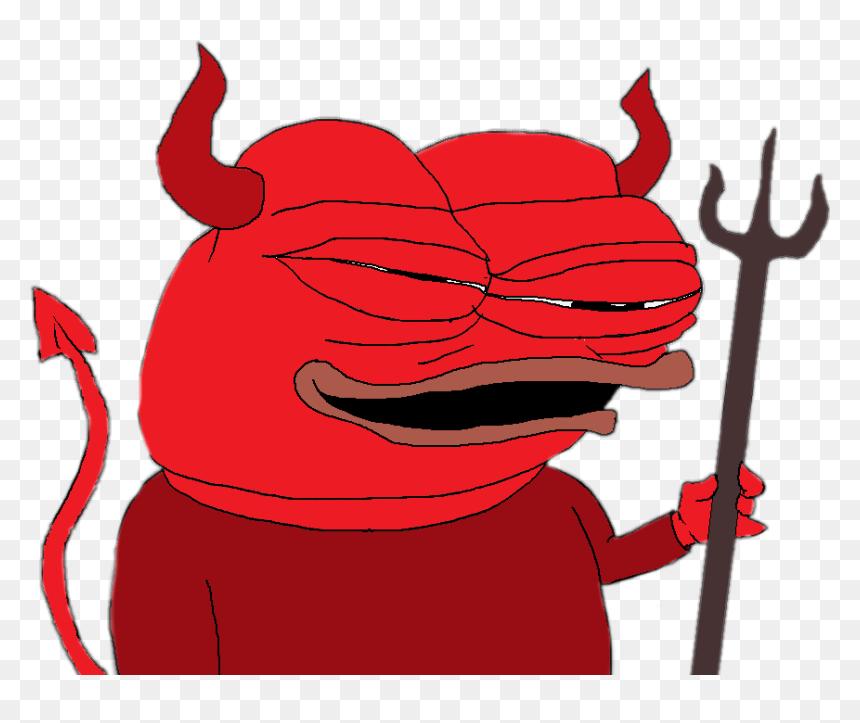 Pepe Meme Rarepepe Devil Devilish Pepe Devil Png