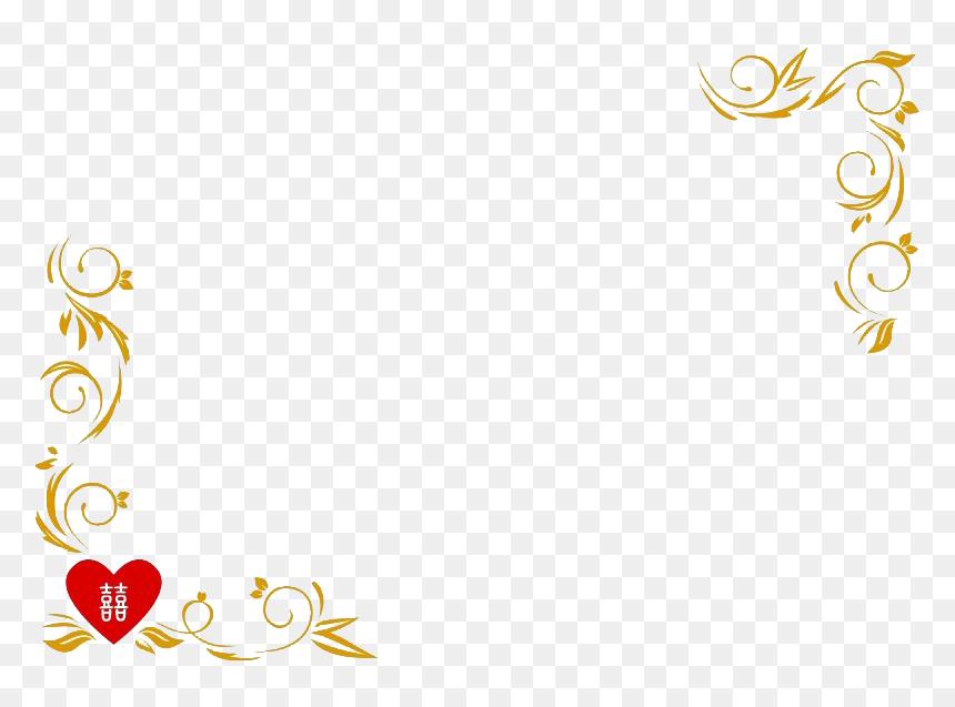 blank wedding invitation card design