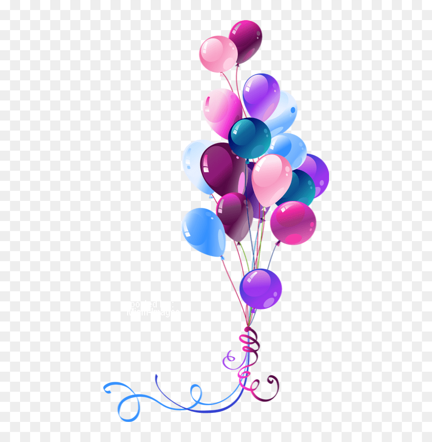 Transparent Background Happy Birthday Balloon Clipart Hd Png Download Vhv