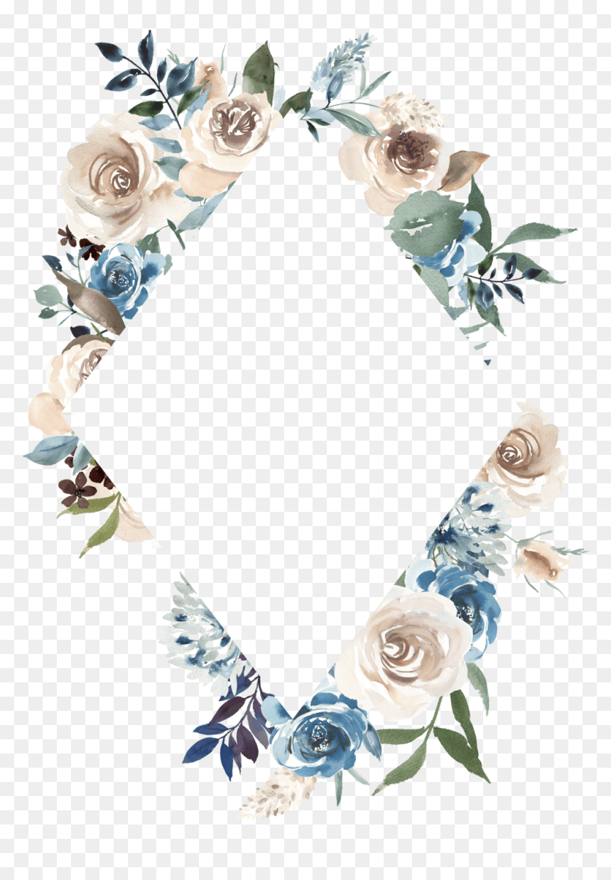 Fotki Flower Frame Cute Wallpapers Wallpaper Backgrounds Wedding Watercolor Flowers Png Transparent Png Vhv