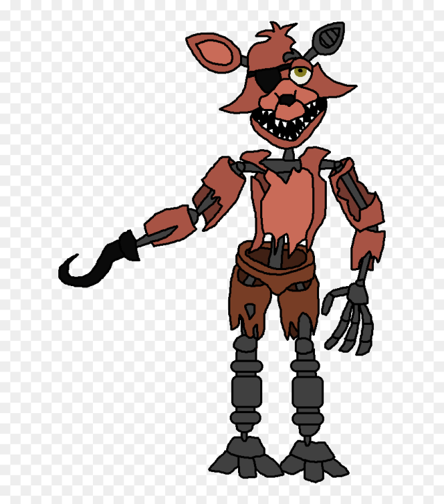 Withered Foxy Clipart , Png Download - Snap Five Nights At