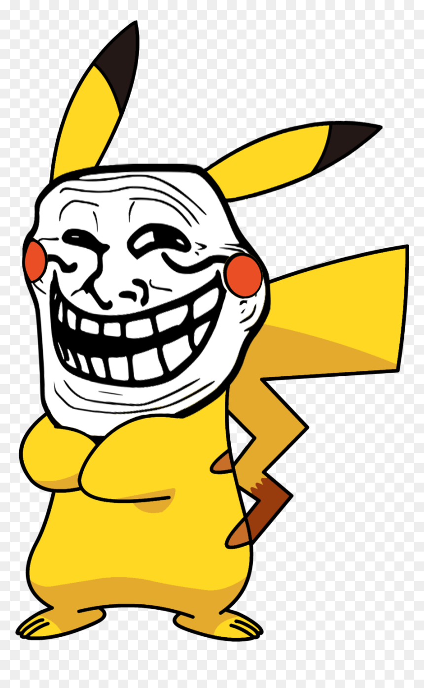 No Caption Provided Yellow Troll Face Meme Hd Png Download Vhv