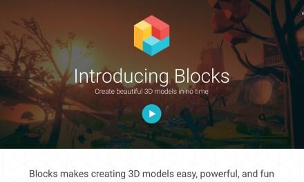 Google Blocks – 3D models in VR