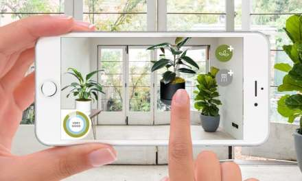 Augmented reality app shows how indoor plants can improve air quality and mood