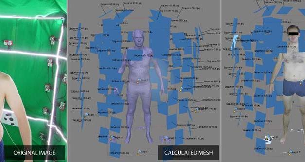 3D Image Based Scanning