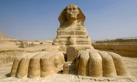 An Opportunity for experiencing the Great Sphinx of Giza with the help of Augmented Reality