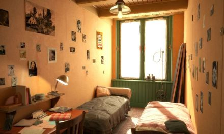 A Virtual Tour of the Anne Frank House with the help of Virtual Reality