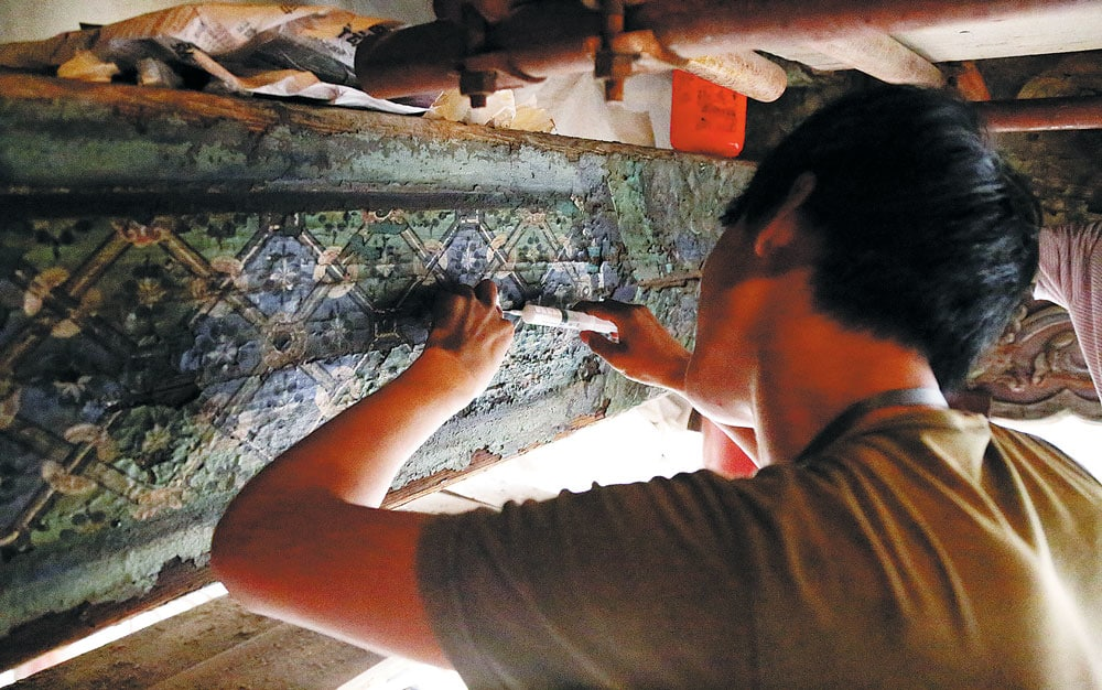 A restoration project that's not just another a brick in the wall