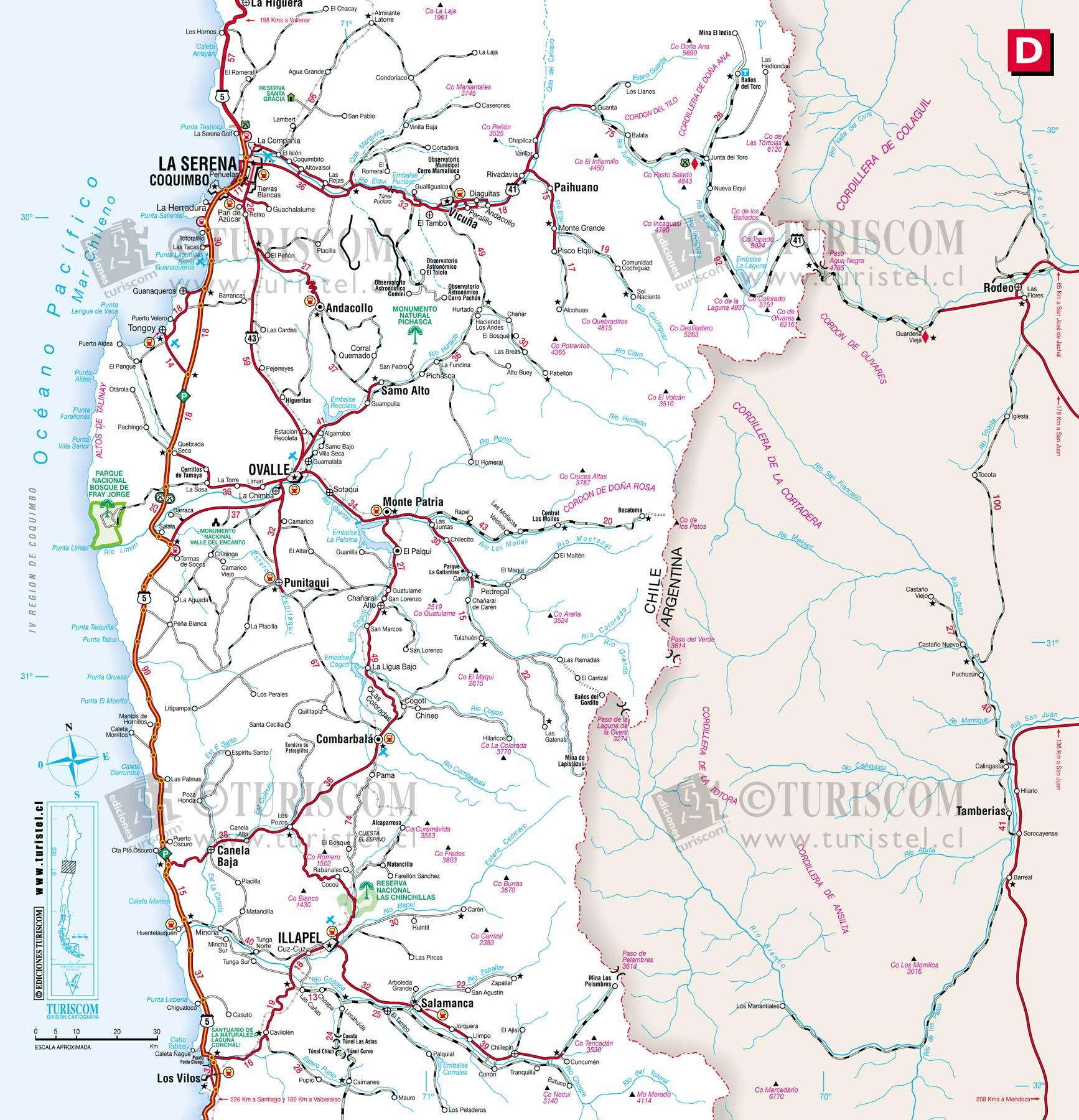 Resultado de imagen para Región de coquimbo