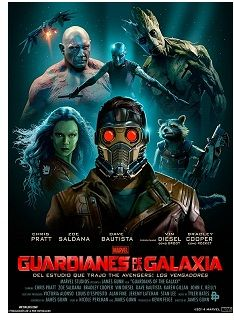 """Guardianes de la Galaxia"" (James Gunn, 2014)"