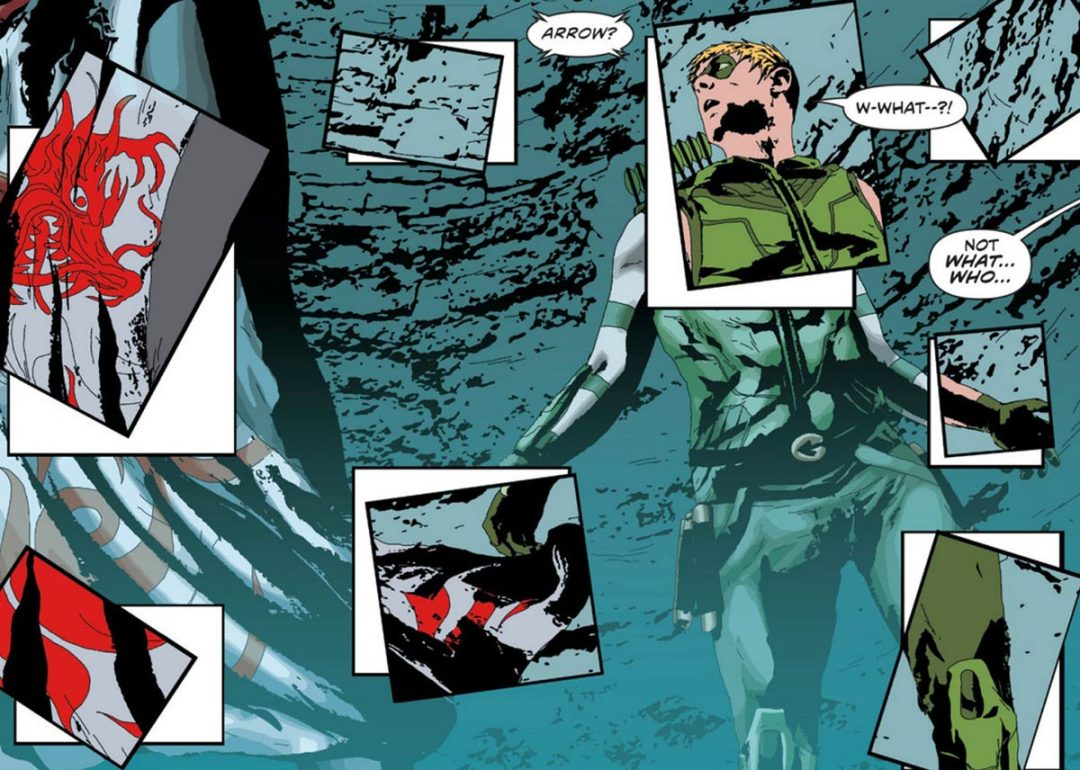"""Green Arrow de Jeff Lemire y Andrea Sorrentino"" (ECC Cómics)"