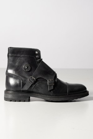 FMC – Stivaletto in pelle con pattina