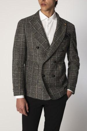 RPL – Giacca in lana a quadri