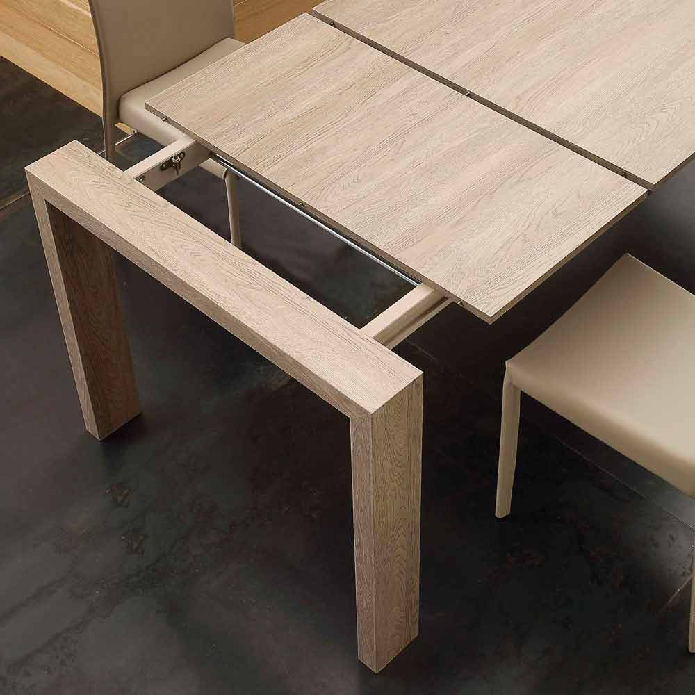 Table Extensible Jesi En MDF De Design Moderne