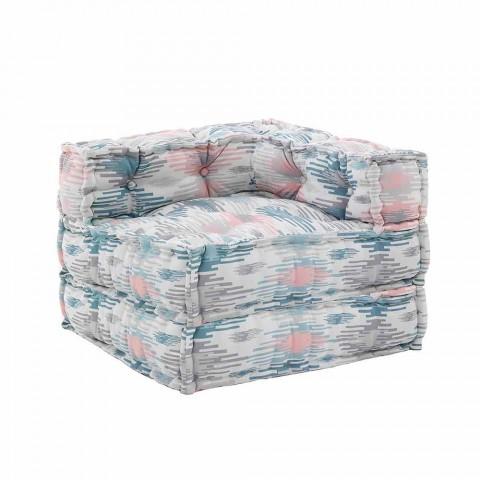 fauteuil chaise longue interieur ou exterieur en tissu deperlant shamo