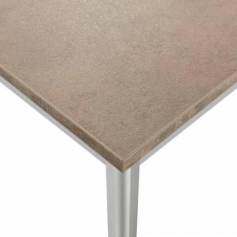 table a rallonge urbino en aluminium extensible jusqu a 3m de long