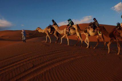 モロッコ メルズーガ砂漠