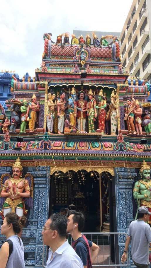 シンガポール 寺院 リトルインディア
