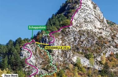Via ferrata Vicdessos en Ariège-Pyrénées