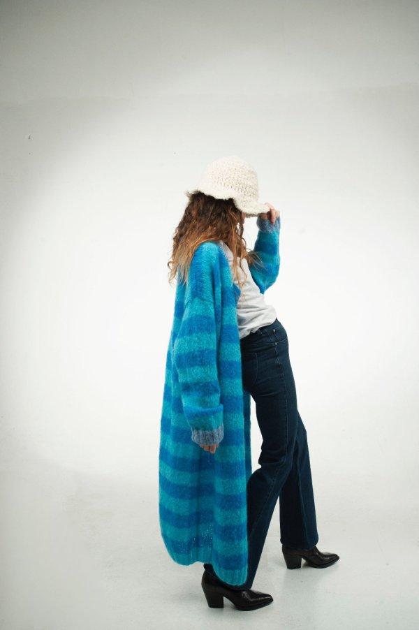 Cardigan Sopra le Righe Azzurre