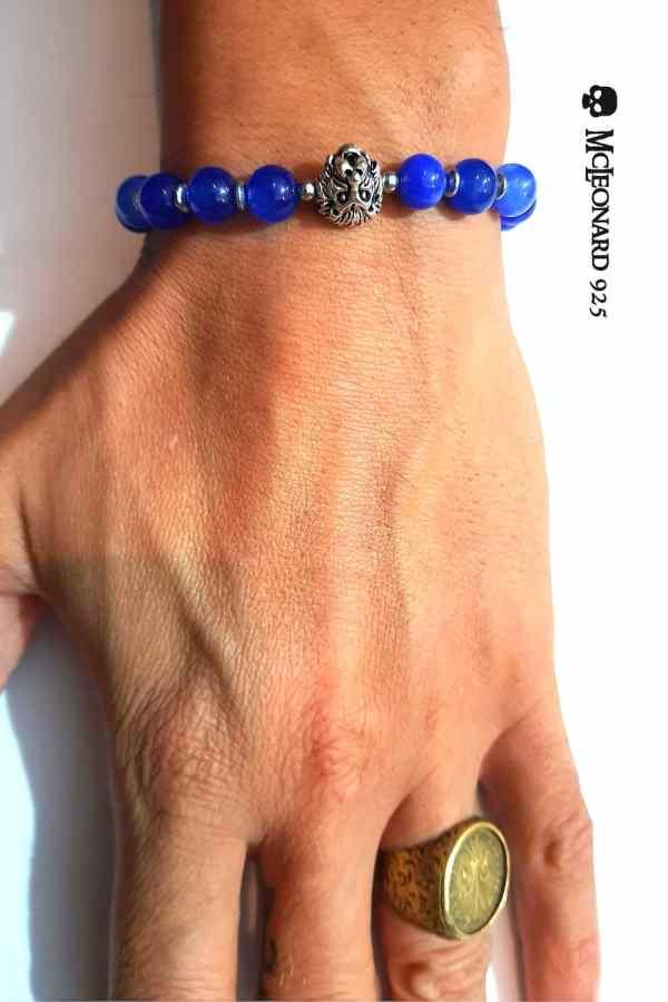 Bracciale Pietra Sky Blue Stone