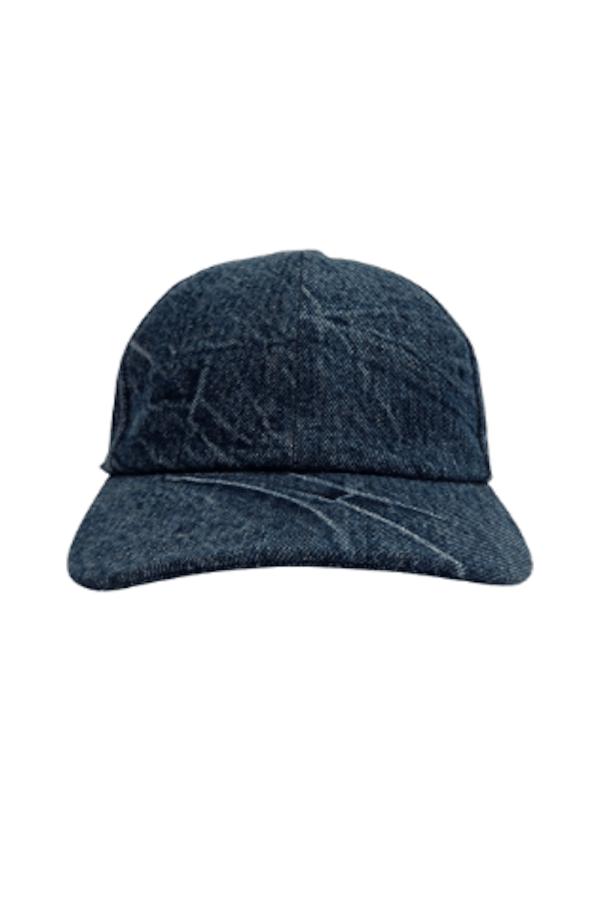 Cappello Dad Cap 1994 In Denim Indaco Efetto Crinkle