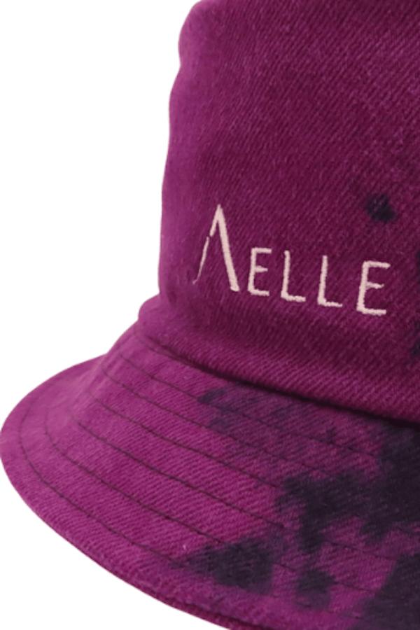 Cappello 1990 Bucket in Denim Viola Overdyed