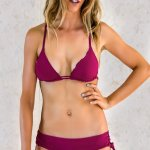 Bottom Bikini Panarea Zebra Purple