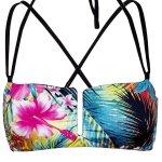 Top Bikini Salina Tropical Flower