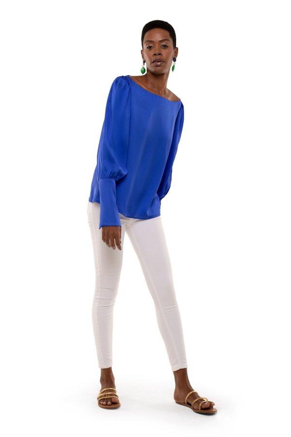 Blusa Windsor Blu