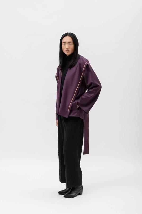 Cappotto Chiara Purple