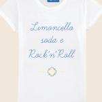 T-shirt Limoncello, Soda & Rock'n Roll