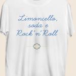 T shirt Limoncello, Soda & Rock'n Roll