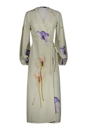 Kimonodress Nizza Bianco