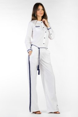 Pantaloni Rakya Bianco