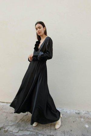 Bloom Maxi Dress Nero
