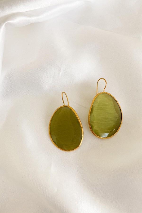 Orecchini Petra Verde