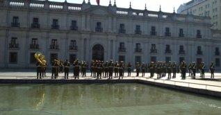 Um dia no centro de Santiago
