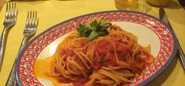 O verdadeiro Spaguetti a Pomodoro