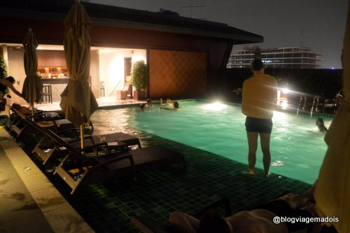 Espaço da piscina