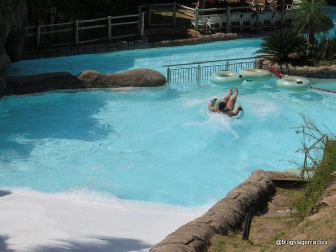 Hot Park no Rio Quente