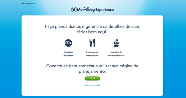 o que fazer antes de ir para Disney