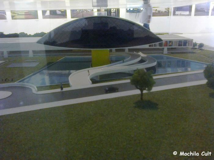 Maquete do museu