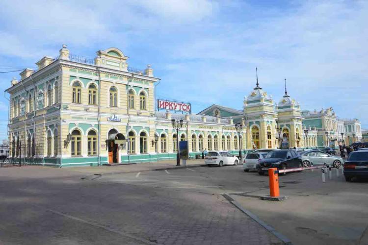 Estação de trem de Irkutsk