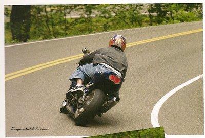 Curvas com moto