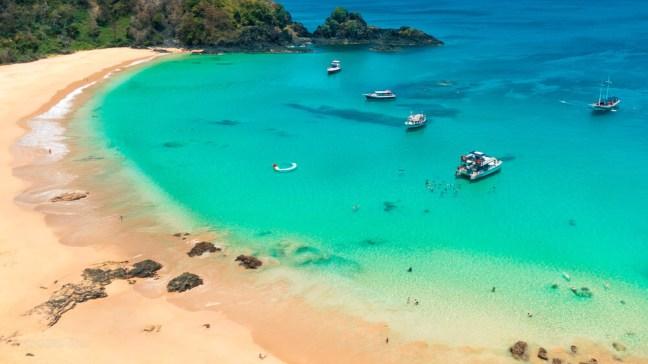 Fernando de Noronha: Baía do Sancho - A Melhor Praia do Mundo