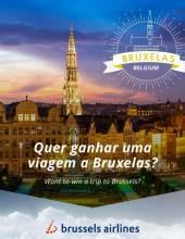 Concurso da Brussels Airlines e ANA leva-o numa viagem até Bruxelas