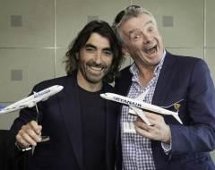 Javier Hidalgo da Air Europa e Michael O'Leary da Ryanair