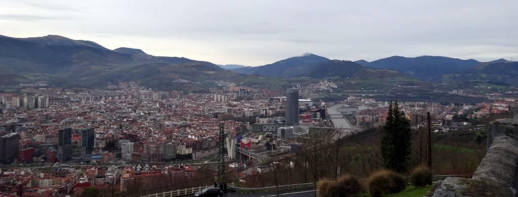 Viagem a Bilbao - Dia 3 - Funicular Artxanda